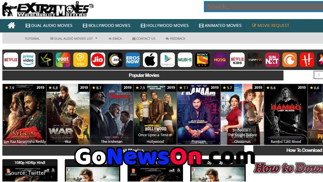Extramovies Mp4 1080p HD Movies Download - GoNewsOn.com