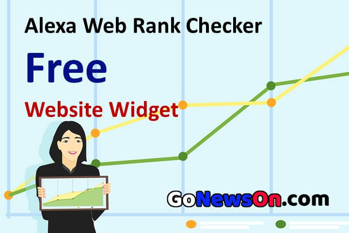 Alexa Web Rank Checker - www.GoNewsOn.com