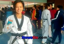 Kajal Shrestha wins gold medal on 13th South Asian Games Takewando - www.GoNewsOn