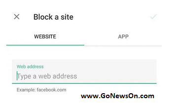 Block Website Chrome - Android Mobile