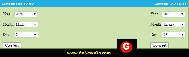 Free Nepali Age Converter Embed Code - www.GoNewsOn.com