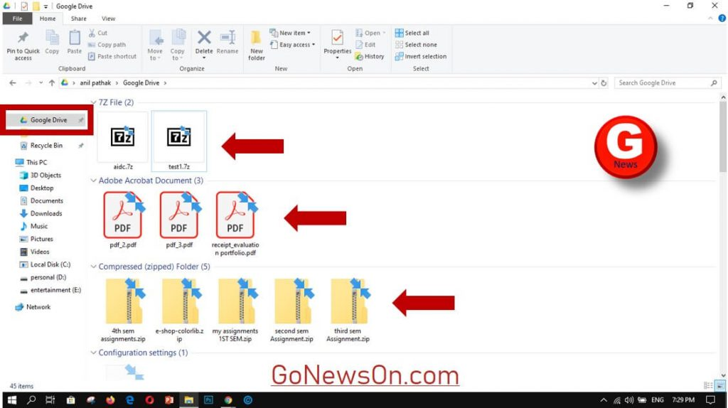 [How To] Backup With Google Drive - www.GoNewsOn.com