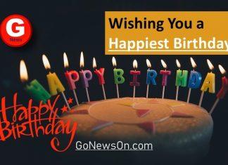 Quotation about Happy Birthday - www.GoNewsOn.com