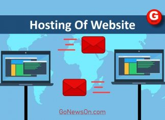 hosting of website - www.GoNewsOn.com