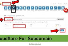 Cloudflare For Subdomain - www.GoNewsOn.com
