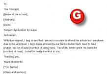 medical application for school leave - www.GoNewsOn.com