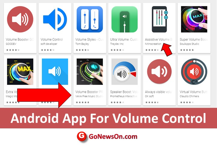 Android App For Volume Control