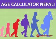 Age calculator Nepal