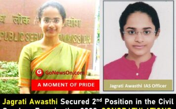 Jagrati Awasthi IAS Officer